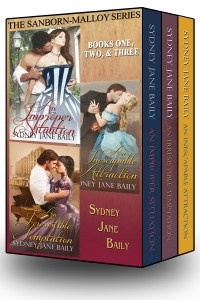 Image for Sanborn-Malloy series boxed set, books 1 - 3