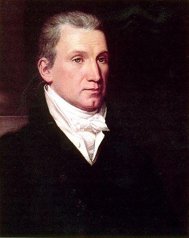 James Monroe portrait by William James Hubbard, ca. 1832.